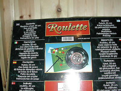 Boxed Roulette Game