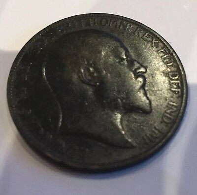 RARE Collectable Edward VII 1903 one penny