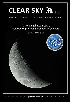 CLEAR SKY - Ewiges Astronomiejahrbuch & Beobachtungsplaner