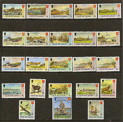 Isle Of Man collection MNH