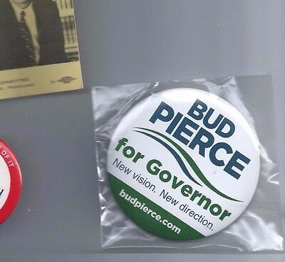 Bud Pierce for Oregon Governor Button