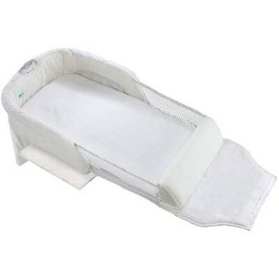 THE FIRST YEARS Close and Secure Portable Infant Sleeper Airflow Design NEW