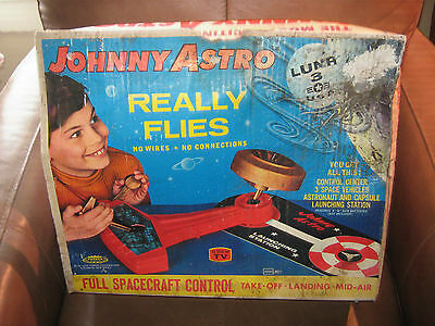 Johnny Astro Toy in Box by Topper 1967