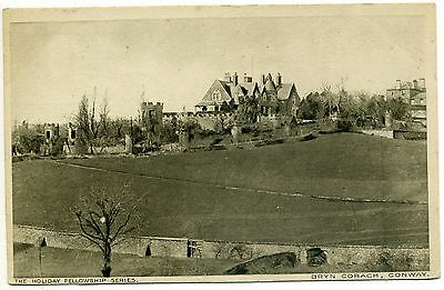 The Holiday Fellowship Bryn Corach Conway Old Postcard