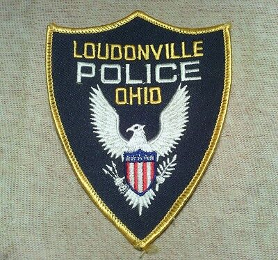 OH Loudonville Ohio Police Patch