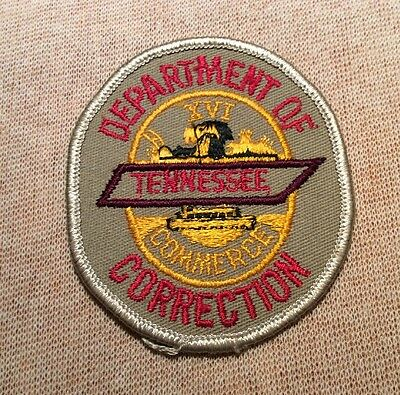 TN Tennessee State Department of Correction Patch (3In)