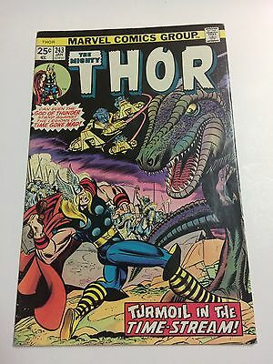 The Mighty Thor #243 Comic Bronze Age 1975 Marvel
