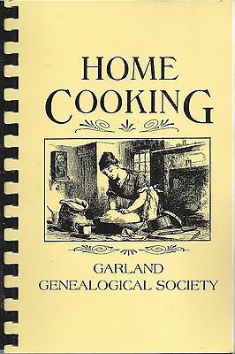 *garland Tx 1997 Genealogical Society Cook Book *home Cooking *texas Community