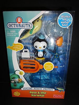 OCTONAUTS PESO & THE NARWHAL PLAYSET by FISHER PRICE    NEW