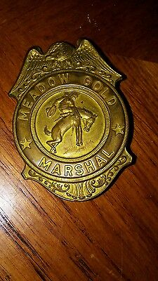 Meadow Gold Marshall Badge