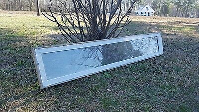 VINTAGE SASH ANTIQUE WOOD WINDOW FRAME PINTEREST RUSTIC 66x12 VERY UNIQUE 1 PANE