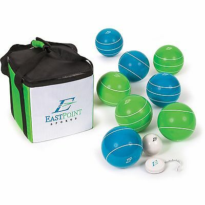 EastPoint Sports Resin Bocce Ball Set with Carrybag Official Tournament Set 110