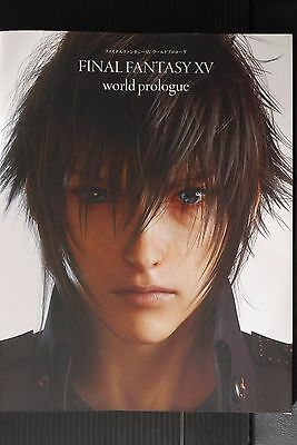 JAPAN NEW Final Fantasy XV World Prologue (Book)