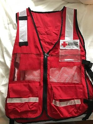 American Red Cross Emergency Disaster Vest NEW!
