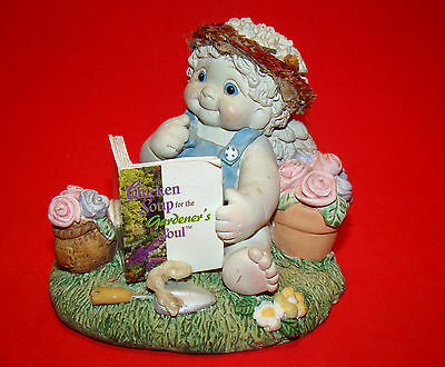 DREAMSICLES Chicken Soup Gardener's Soul 1999 Retired Figurine – Angels Cherubs