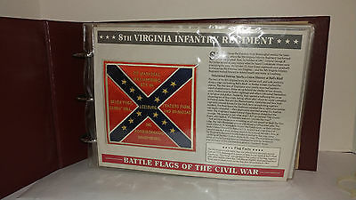 Willabee & Ward Battle Flags Of The Civil War 21 Patches