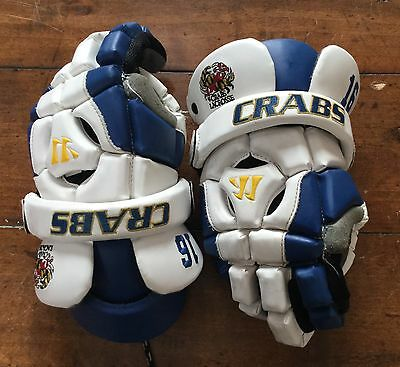 Warrior Riot II Crabs Lacrosse gloves 13 Inch