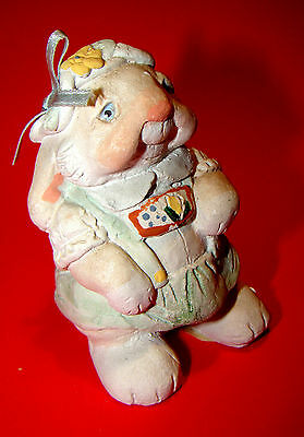 """DREAMSICLES HTF """"Sarge"""" Easter / Spring Bunny Rabbit 1991 Retired Figurine"""