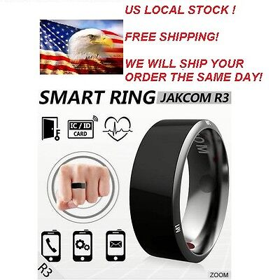 Jakcom R3 Smart Ring 7,8,9,10,11,12# new Technology NFC Electronic-Mobile Phone