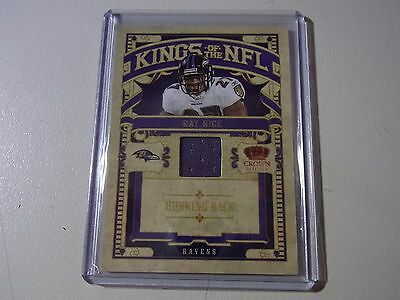 2010 Crown Royale Kings Of The NFL Jersey Ray Rice Ravens #227/299
