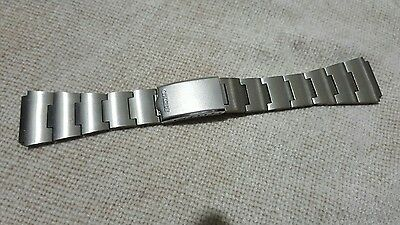 20mm seiko bell matic , speed timer  watch stainless steel  bracelet strap new