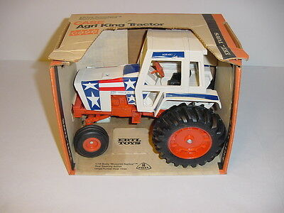 1/16 Vintage Case 1370 Agri King Stars & Stripes Spirit of 76 Tractor W/Box!