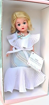 """1930 HOLLYWOOD GLAMOUR  Madame Alexander 10"""" Doll Cissette with CERTIFICATE MINT"""