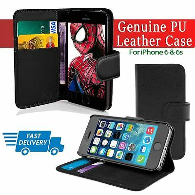 Flip Wallet Leather Case Cover For Apple iPhone 6 6s  (011
