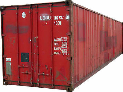 Storage Container 40 Foot Good Condition