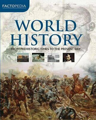 World History (Factopedia) Hardback Book The Cheap Fast Free Post