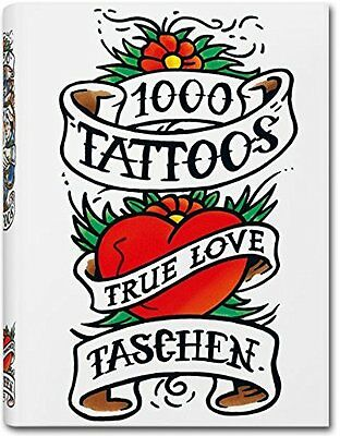 1000 Tattoos (Taschen 25) Paperback Book The Cheap Fast Free Post
