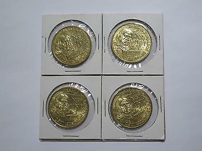 4- Uruguay 1976 5 Pesos Commemorative Unc World Coins From Old Collection Lot