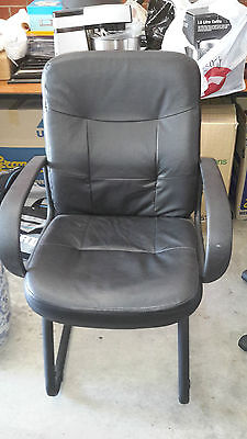 1 x CHAIR black  office desk chair study desk chair
