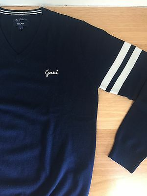 GANT Men's Fine Lambswool Jumper SIZE M - As New Condition