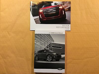 2013 Ford Edge Owners Manual And Guide FREE DELIVERY TO USA AND CANADA