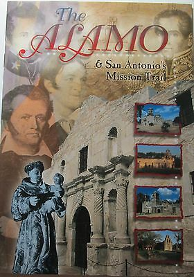 The Alamo and Mission Trail Texas Guide Book 32 colorful photos   NEW