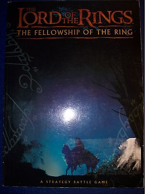 Games Workshop - Lord of the Rings - The Fellowship of the Ring - Rule Book OOP
