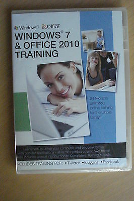 Windows 7 + Office 2010 Training: 24 Months Unlimited Online Training (SEALED)