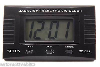 Portable Digital Clock with Date Month Light and and New battery Supplied