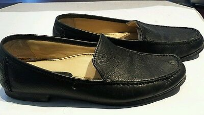 Rockport black leather women's loafers size 9 M
