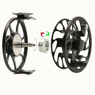 CNC Machine Cut T6 Fly Fishing Reel for Rod Line Durable Drag System Good