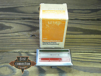 71125-67 Indicator lamp light green, red Gen Oil für Harley XLH 1967