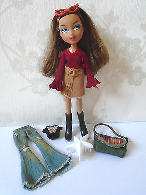 Bratz Doll Funk Out Nevra with Original Bratz Clothes, Shoes, Brush