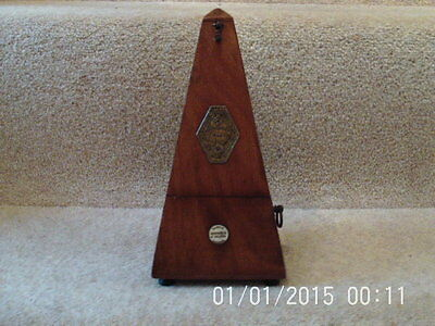 Metronome Antique Vintage Rushworth & Draper In excellent condition