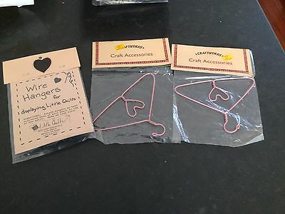 QUILT HANGERS - ASSORTED (SMALL) 5 - see pictures