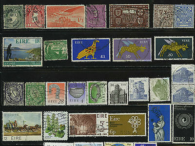 Eire Ireland Europe Stamps Collection Timbres Francobolli Sellos Stempels Lot