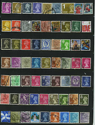 Qeii Queen Elizabeth Decimals Machins / Others 1St 2Nd Class Collection Stamps
