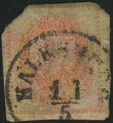 Unknown Stamp Looks Very Old - Planet Earth Somewhere Francobollo Sello Timbre