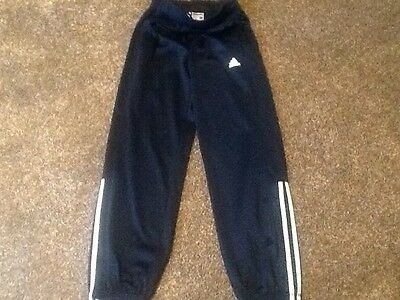 Adidas track suit bottoms size 11-12
