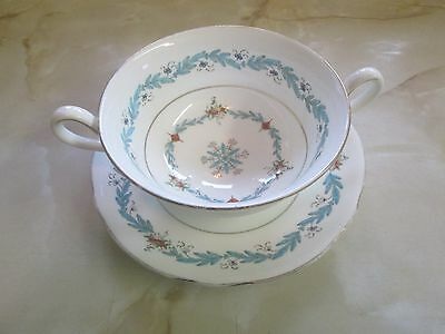 vintage royal cauldon soup cup & saucer